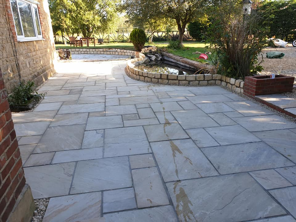 Landscaping job just finished near Bletchingdon